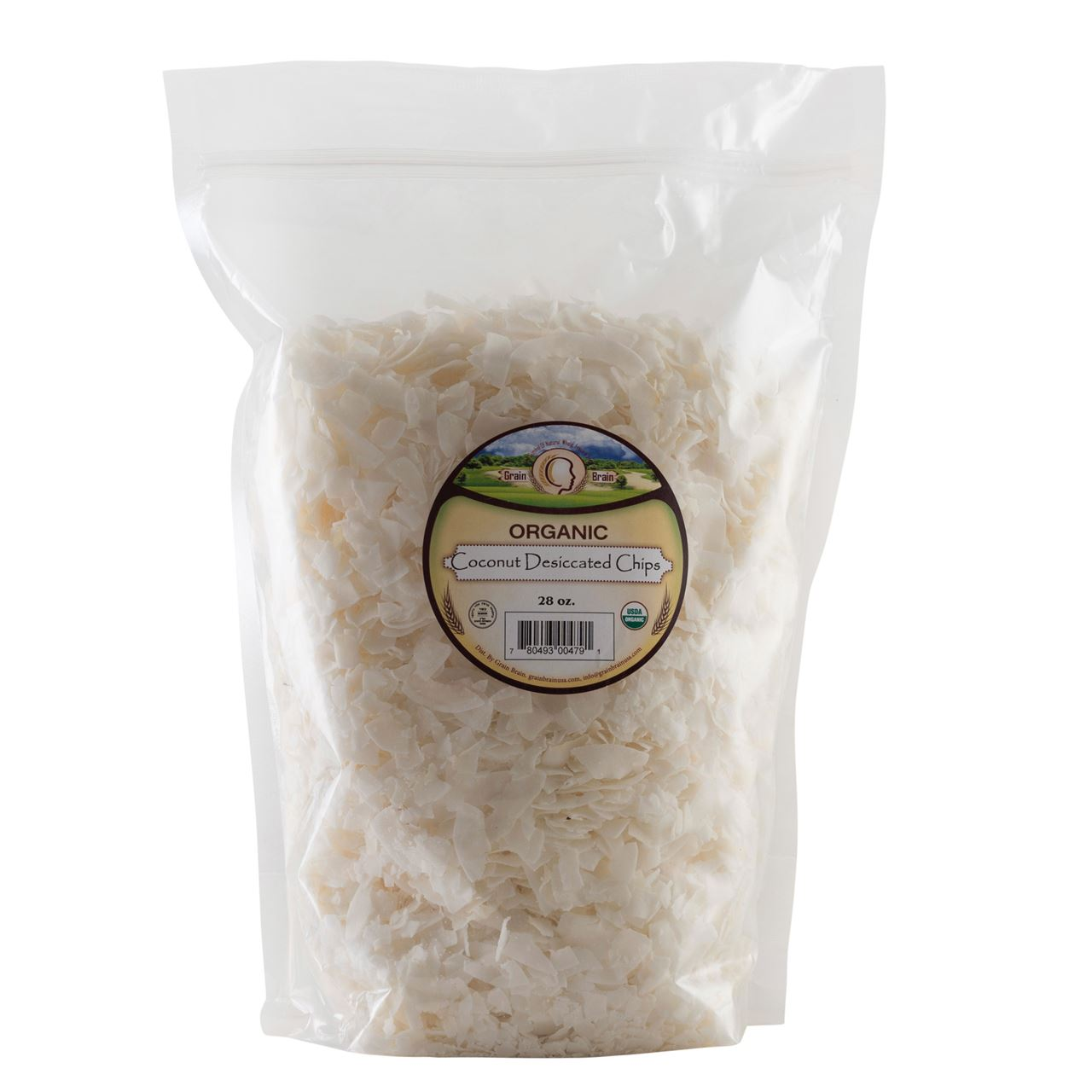 Organic Coconut Chips 28 oz