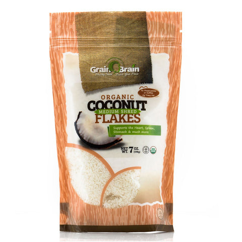 Organic Medium Shredded Coconut 7 oz