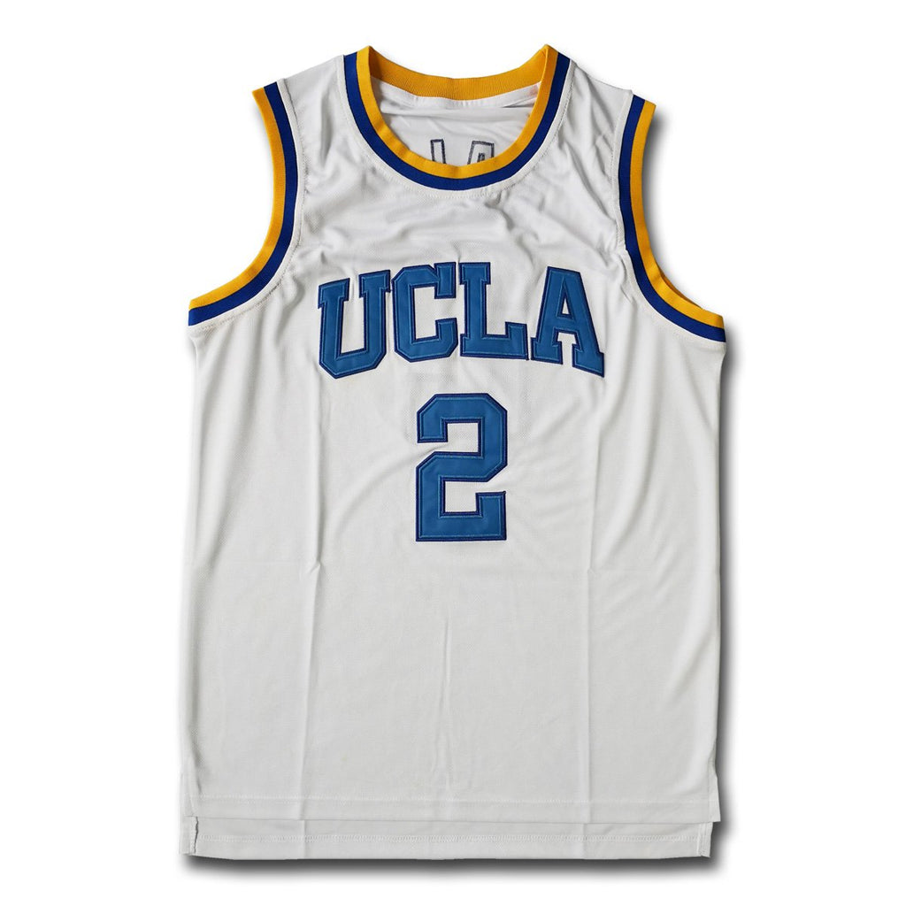 outlet store ccfda e20bb Lonzo Ball #2 College White Basketball Jersey – Jersers