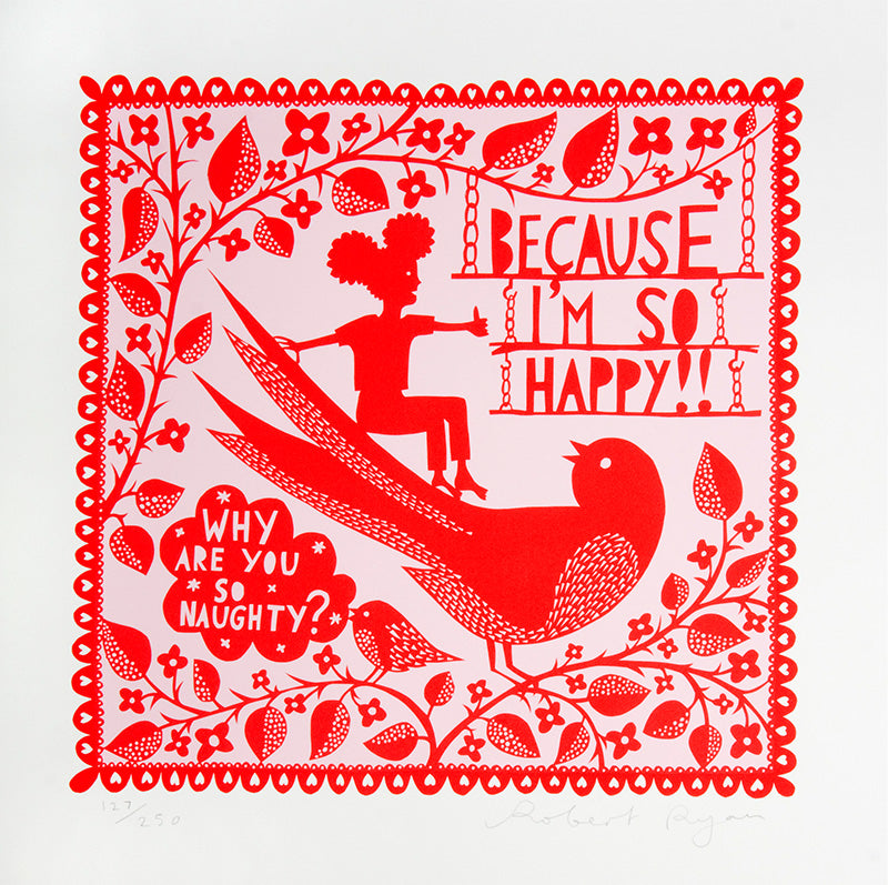 """Why Are You so Naughty"" by Rob Ryan"