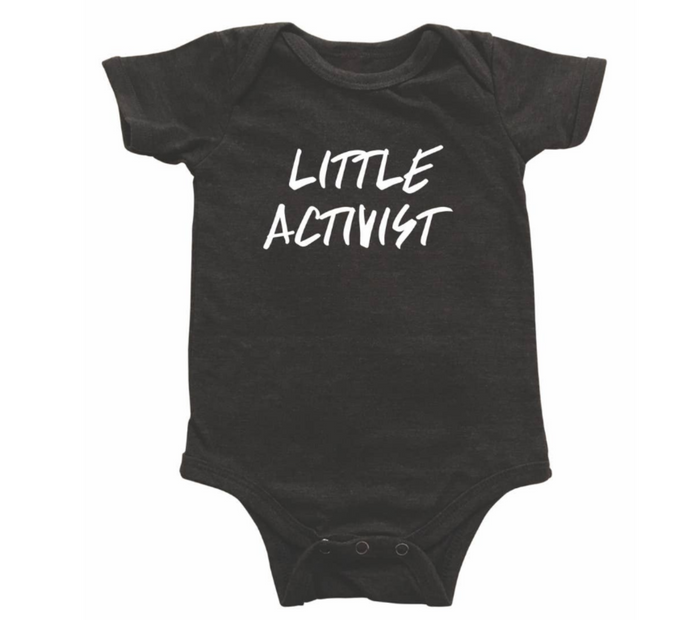Little Activist onesie