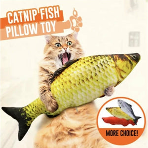 5 Pack Cat Kicker Fish Toy