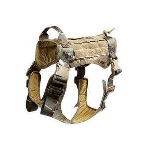 TACTICAL NO PULL DOG HARNESS-055 - camouflage - XL