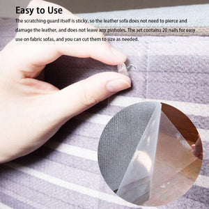 2Pcs Anti Cat Scratch Stick-On Shield