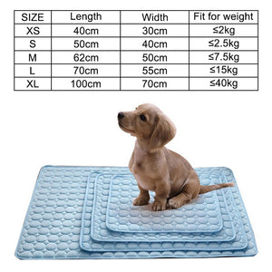 THE POOCH PAD COOLING MAT FOR DOGS