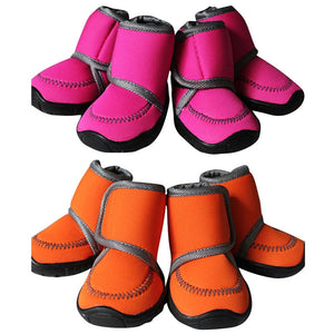 Anti-Slip Waterproof Dog Winter Boots