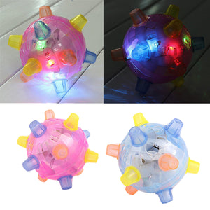 Pet LED Jumping Activation Ball