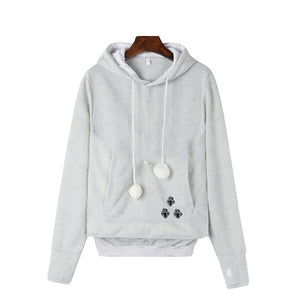 Pet Holder Pocket Hoodie