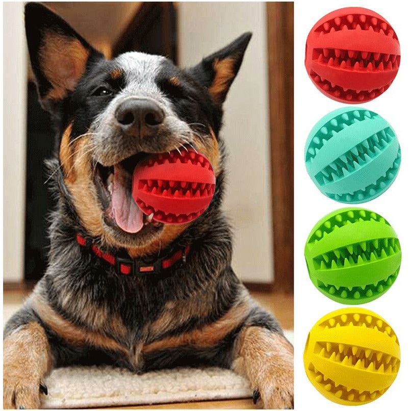 Dog Ball Chew Teething Treat
