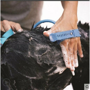 Pet Shower Multi-Tool | All-in-1 Scrubber-Massager-Sprayer with Hose