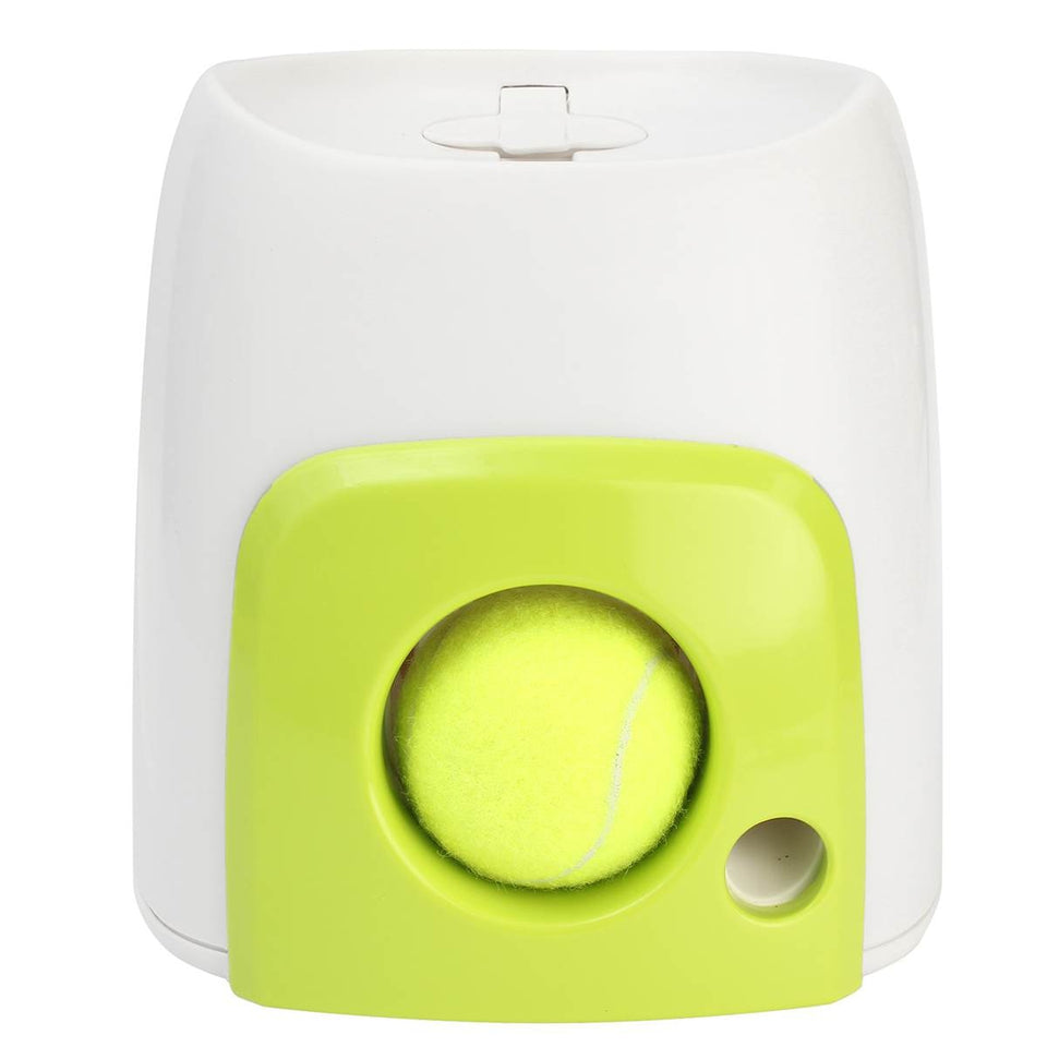 INTERACTIVE TENNIS BALL N TREAT LAUNCHER
