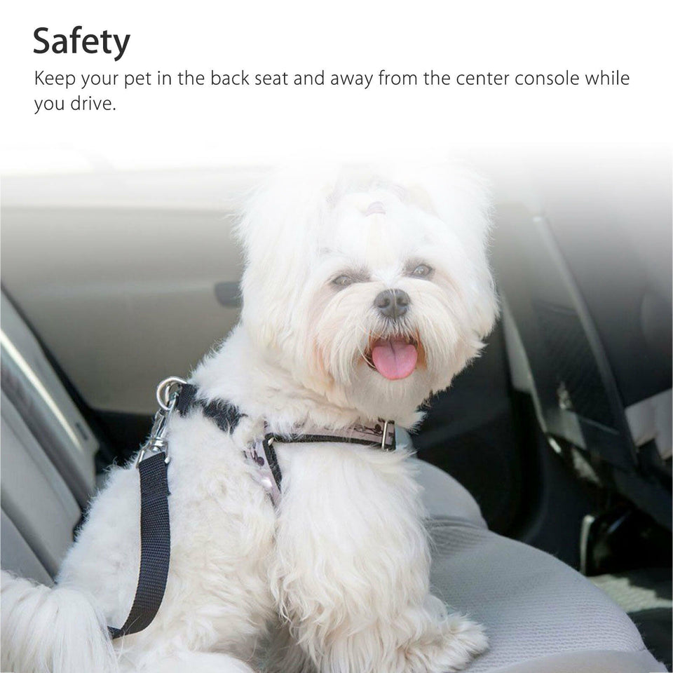 Premium Dog Safety Seat Belt (2pcs)