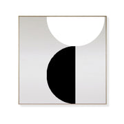 'ORBIT' Magnetic Art Kit in Black & White