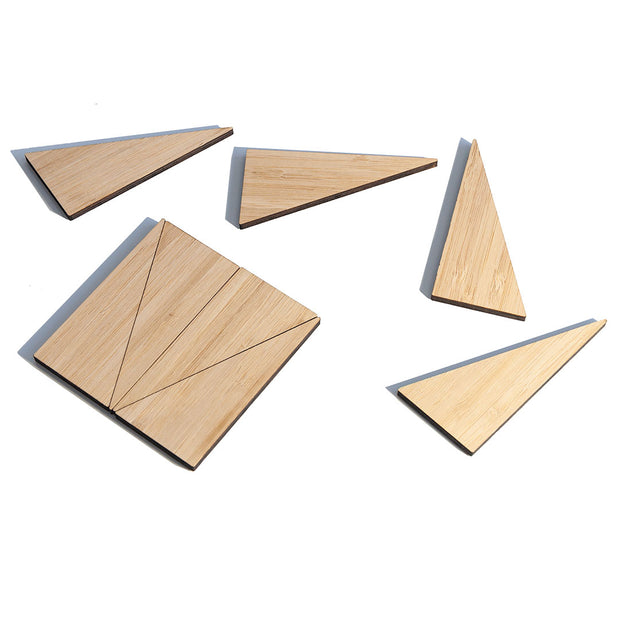NEW: Mini Triangle Art Magnets