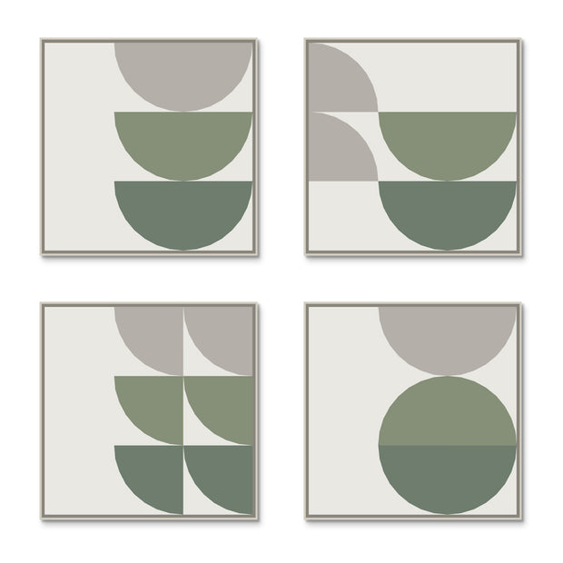 Large Square canvas & Collection 8E: Forest, Eucalyptus, Stone