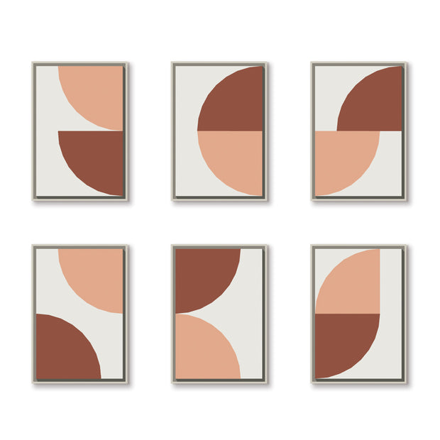 Standard Rectangular canvas & Collection 5F: Salmon, Oxide