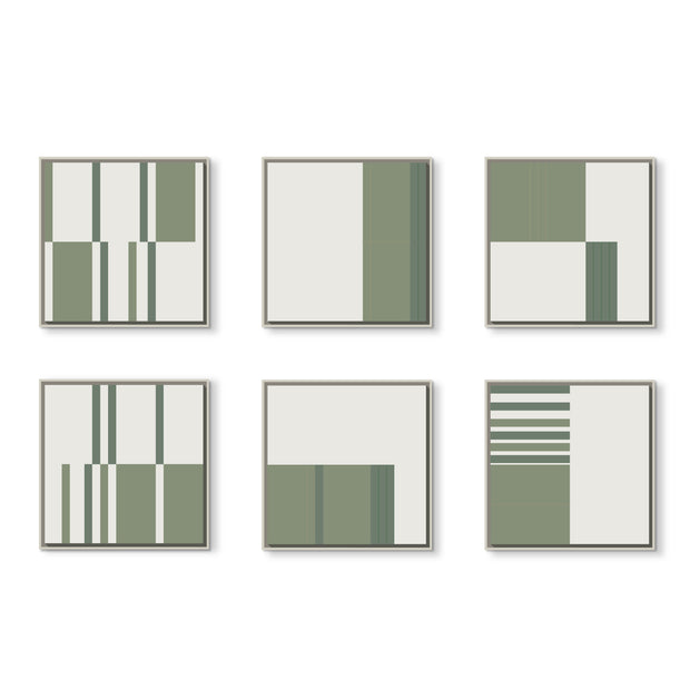 Standard Square canvas & Collection 4E: Eucalyptus, Forest