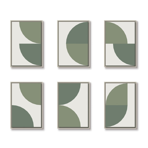 Standard Rectangular canvas & Collection 5E: Forest, Eucalyptus