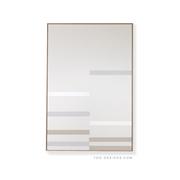 Large Rectangular canvas & Collection 9B: Cement, Stone, White
