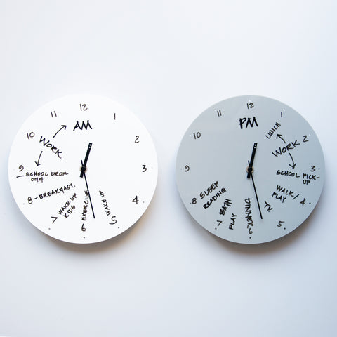 TOO designs TOO do day planner clock to help with time management