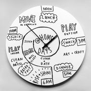 TOO designs TOO do day planner clock stay motivated to stick to a routine