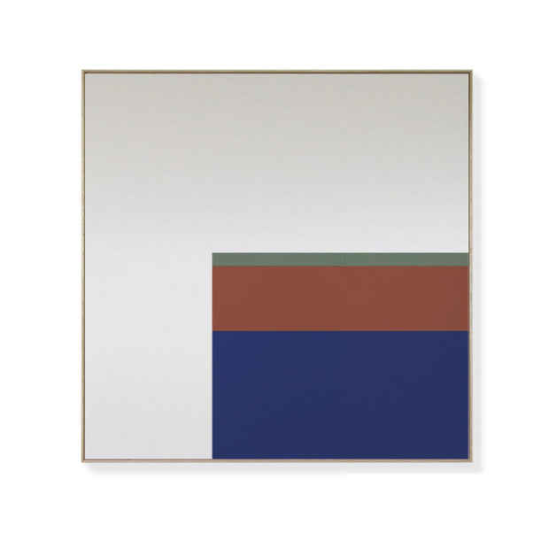 TOO D Magnetic Art - 'URBAN' in Blue, Oxide & Green with Large Square Canvas - TOO DESIGNS