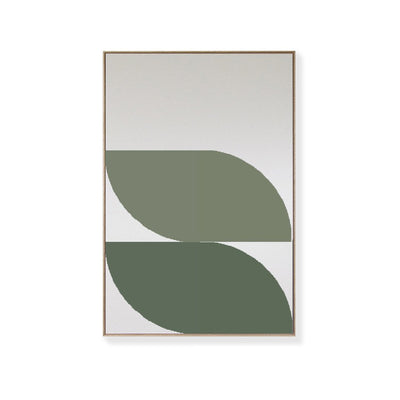 TOO D Magnetic Art - 'ORBIT' in Green with Large Rectangle Canvas - TOO DESIGNS