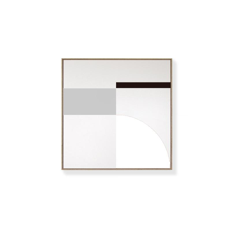 CANVAS KIT COMBO - 'FUSION' Square Magnetic Art In Cement, Black & White