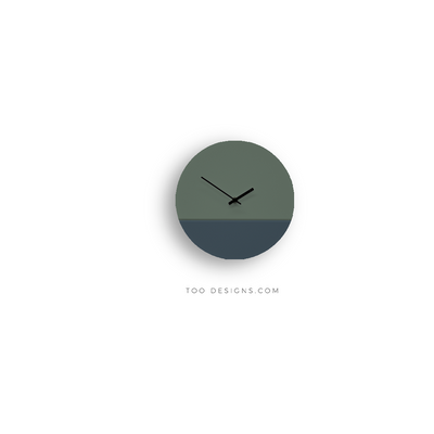TOO TONE CLOCK Standard: Forest, Slate Blue