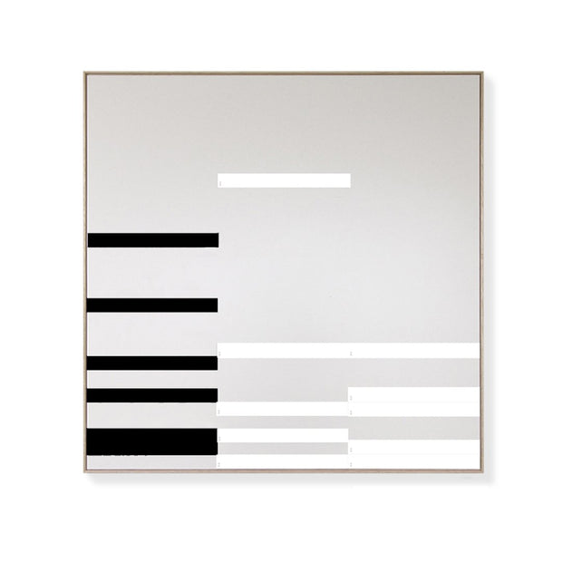 KITS - 'LINEAR' Magnetic Art Kit In Black & White