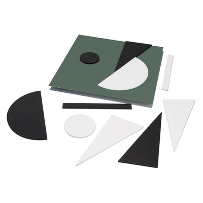TOO Designs Magnetic Art Play Box - Forest Green - TOO DESIGNS