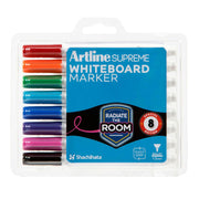 TOO-do whiteboard wall clock - Artline Supreme Whiteboard Markers Assorted 8 Pack - TOO DESIGNS