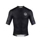 Zol Cycling Breathable Race Fit Jersey Black - Zol Cycling