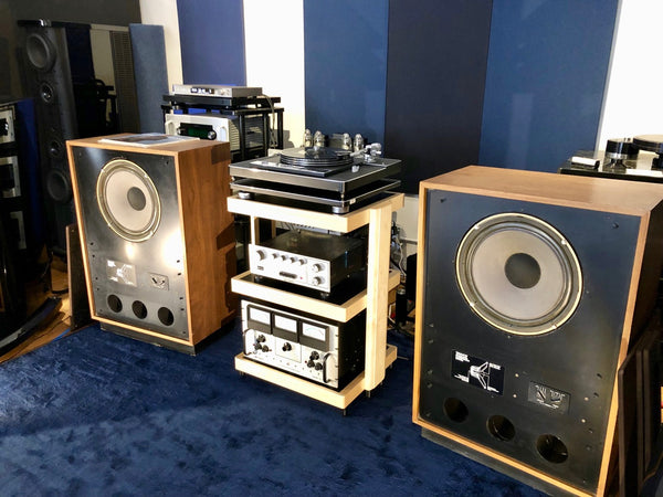 SkyFi Audio System of the Week featuring 1970's Tannoy and Audio Research Gear, Reviewed by Steve Guttenberg The Audiophiliac