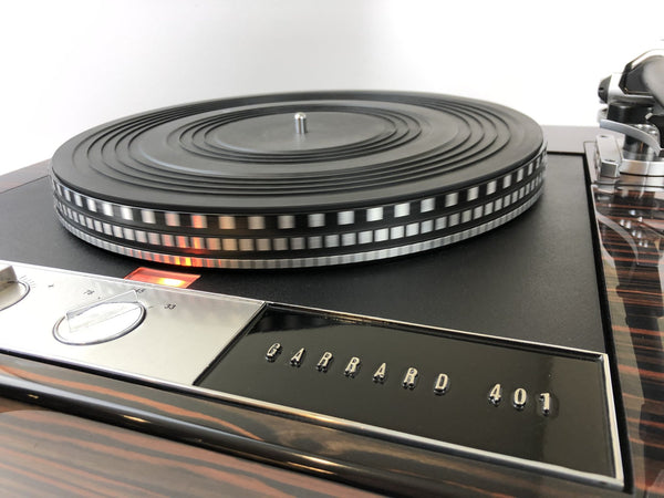 """Audio Time Machine: The Garrard 401 Spins Again"""