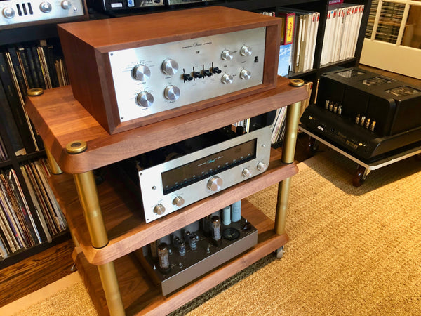 Many folks consider this system to be the holy grail of vintage American HiFi