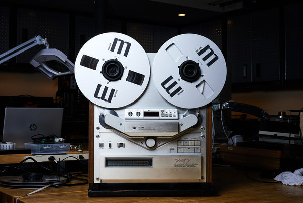 A Special Feature by Gear Patrol Magazine - SkyFi's Akai GX-747 Reel to Reel