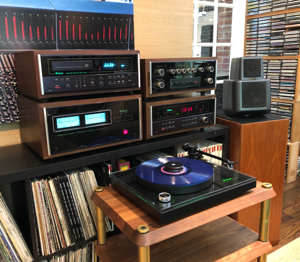 Vintage 80's System of the Week with a Touch of Modern