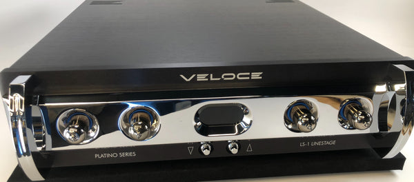 Veloce Audio - Lithio Series - LS-1 Line Stage Tube Preamplifier with SmartSupply Battery Power