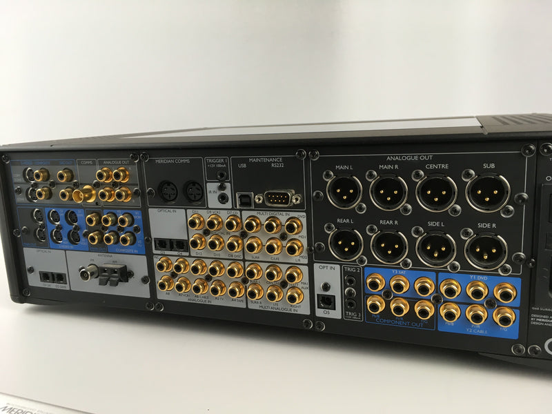 Meridian G68XXV - AV Processor with XLR Audio In/Out and Remote - Perfect