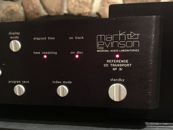 Mark Levinson No.31 Reference CD Transport, Rare, Top Loading and Motorized