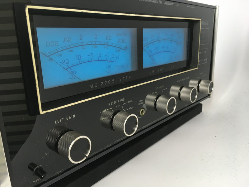 McIntosh MC2205 Solid State Amplifier - 200WPC