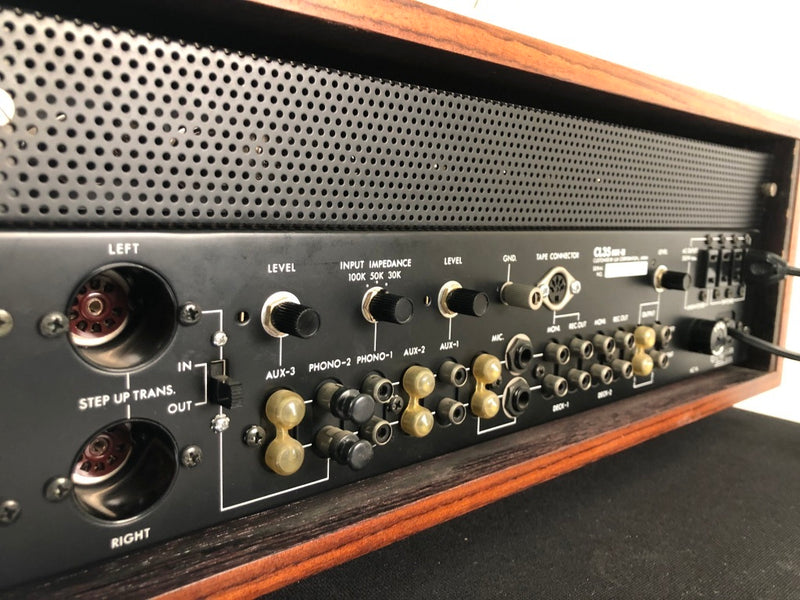 Luxman CL35 MKIII Tube Preamp - NEW Old Stock - Complete Collector Set!