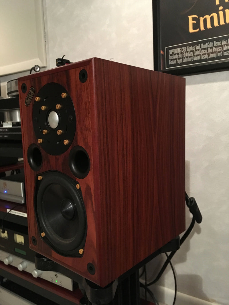 Acoustic Energy AE-1 Speakers with Matching Stands