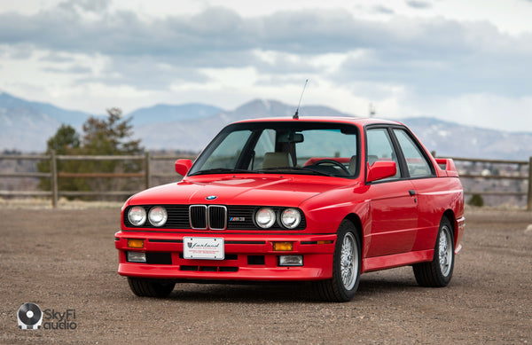 1991 BMW M3 Brilliantrot Red E30 Coupe