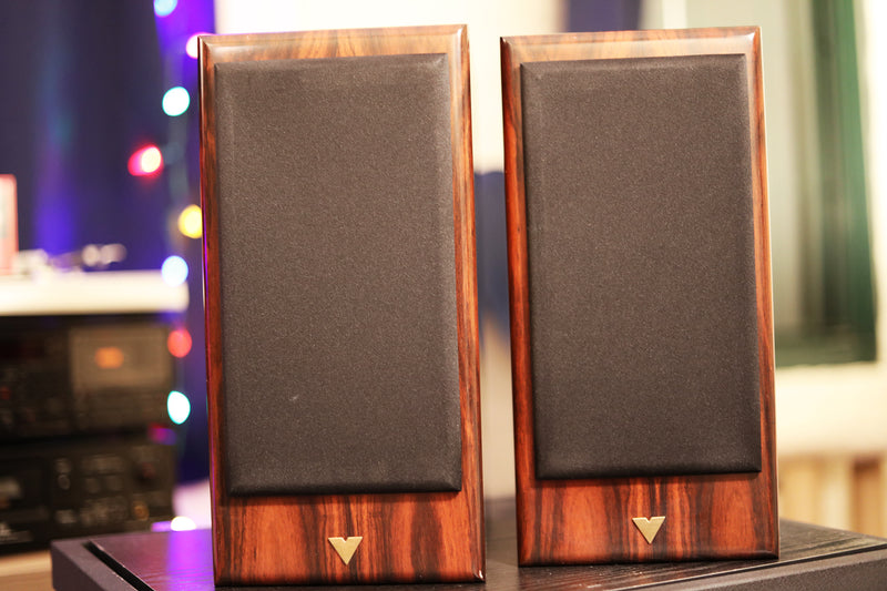 Vienna Acoustics Haydn Speakers - With Semitransparent Woofers In A Spectacular Finish