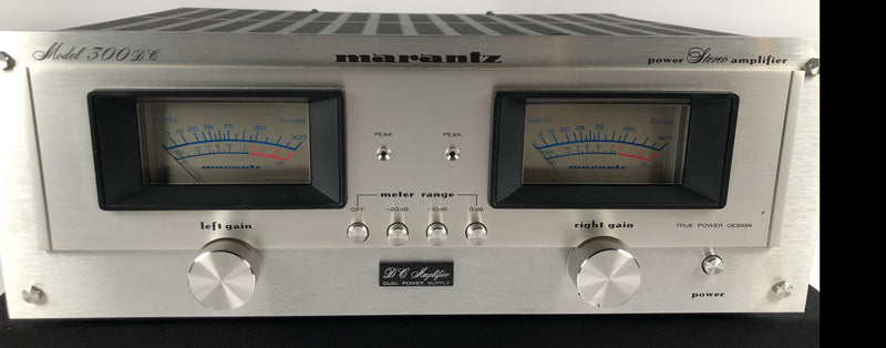 Marantz 300DC Solid State Power Amplifier - Mint and Rare Collector Piece