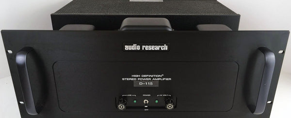 Audio Research D-115 MKII Classic Tube Amplifier - Silver or Black Faceplate Option
