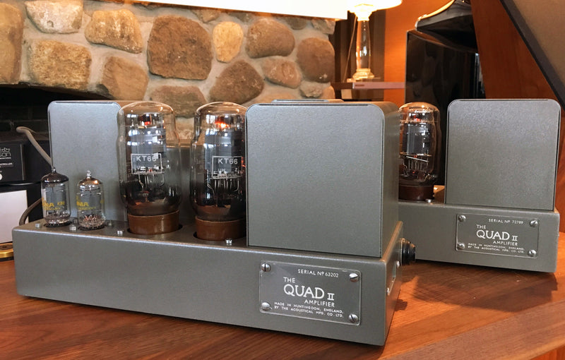 Restomod Quad II Tube Monoblocks - 15 Glorious Watts of Power!