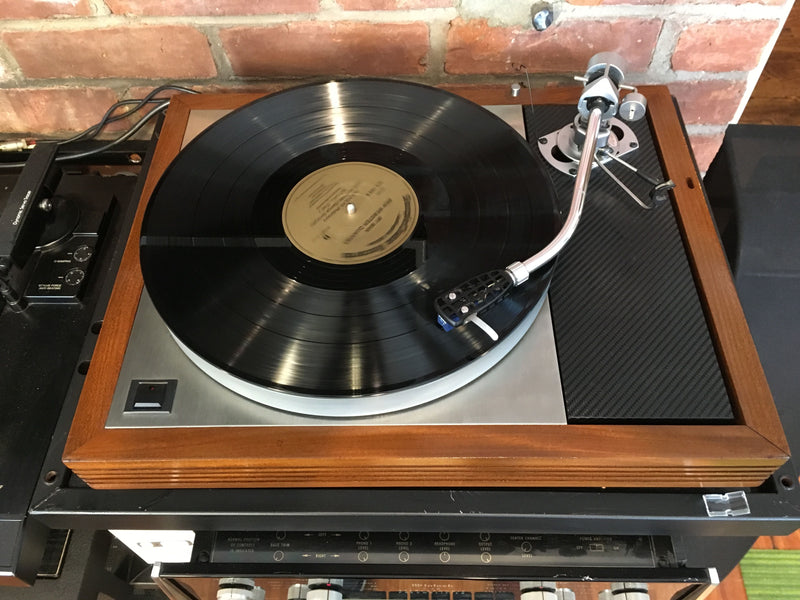 Linn LP-12 with SME 3009 Tonearm and New Grado Cartridge